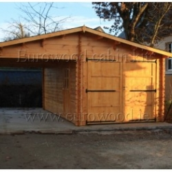 Gallery of wooden garages
